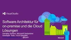 software architektur software architektur für on premise und die cloud lösungen ppt