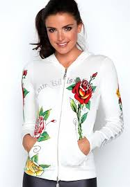 women u0027s ed hardy hoodies compare prices and buy online women u0027s