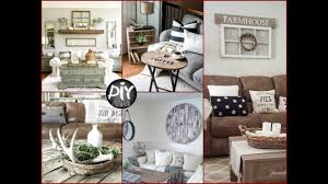living room decor inspiration best rustic farmhouse living room decor ideas youtube