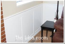 Inexpensive Wainscoting Faux Wainscoting Diy Version 2 The Idea Room