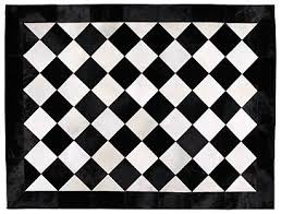 Round Rugs For Bathroom Rug Black And White Checkered Rug Wuqiang Co