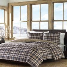 Duvet Covers Plaid Eddie Bauer Spencer Plaid Duvet Cover Set Free Shipping Today