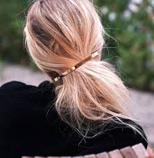 barrette hair 23 gorgeous and grown up ways to wear hair barrettes thefashionspot