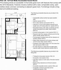 Floor Plan Standards 28 Cfr Appendix B To Part 36 Analysis And Commentary On The 2010