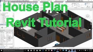 autodesk revit complete house plan tutorial part 1 youtube