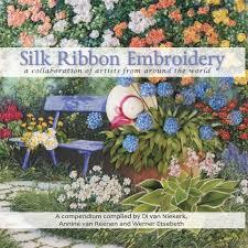 ribbon embroidery flower garden silk ribbon roses by olga smirnova di van niekerk