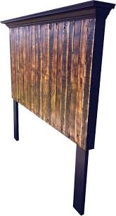Antique Headboards King Tall King Or Queen Size Pallet Headboard From Vintage Headboards