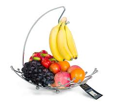 fruit basket with banana holder luxe premiums hanger decorative