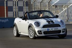 jeep convertible white mini cooper s lightening blue with white bonnet stripes british