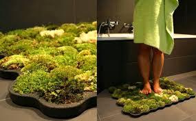 amazing bath mat of moss u003d make it your own