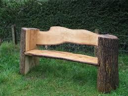 Rustic Log Benches - wood log bench hashtag digitals
