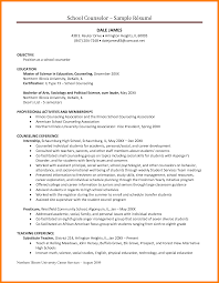 guidance counselor cover letter pastry assistant sample resume