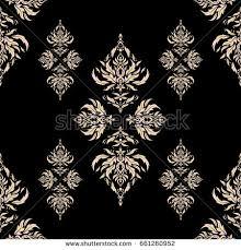vector moroccan arabian turkish ornaments stock vector