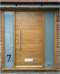 Oak Exterior Doors Modern Oak Front Doors Home Decorating Ideas