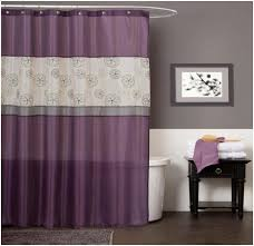 Pink And Gray Shower Curtain by Bathroom Purple Bathroom Wallpaper Purple Ceramic Bathroom