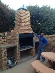 building my own braai need input on chimney design