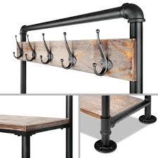 Entry Shelf Buy Pipe Shoe Rack U0026 Coat Hanger Hallway Entry Shelf At 2 Mad