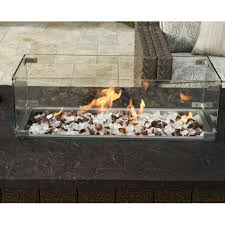 Fire Pit Logs by Tommy Bahama Alfresco Living Fire Pit Wind Shield Gas Log Guys