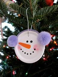 snowman ornament craft for find craft ideas