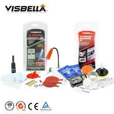 visbella diy windshield repair kit with uv light windscreen glass