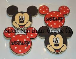 mickey cookies sweet sentiments pinterest decorated sugar
