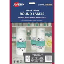 Avery 60 Labels Per Sheet Template by Avery Print To The Edge Labels Glossy White 120 Pack