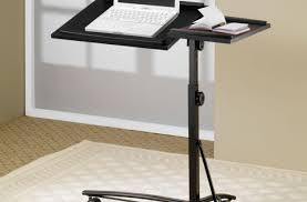 modern folding table desk amusing small laptop desk with printer shelf unique small