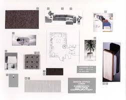 Interior Design Material Board by Phillip Payne U2014ford Amc Chrysler Designer Dean U0027s Garage