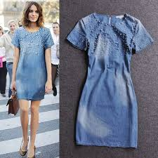 the dose for fashion happiness enter the dynamite denim dress