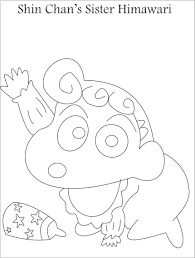 shin chan coloring games himawarifree coloring pages for kids