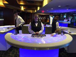 Glow In The Dark Table by Glow In The Dark Casino Night Corporate Event