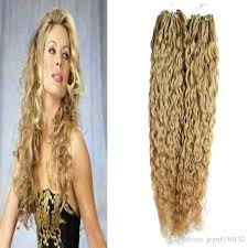 beaded hair extensions hair honey curly micro bead hair