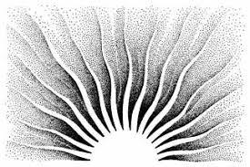 204g sun wavy rays