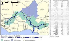 Niger Africa Map by Climate Risk Assessment For Water Resources Development In The