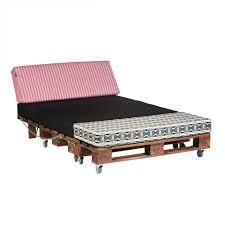 canapé lit en palette chambre canapé lit en palette home garden pour transformer des