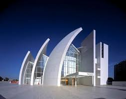 iconic modern architecture jubilee church in rome by richard meier
