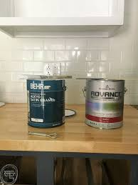 best paint finish for kitchen cabinets the best paint for kitchen cabinets refresh living