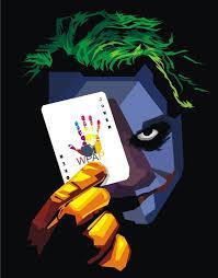tutorial gambar joker 10 10 01 passion of art