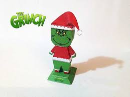 the grinch stole grinch free papercraft