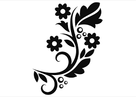 flower ornament 11 wallstickers