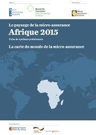 Seeking Monde Des Series 2015 Landscape Of Microinsurance In Africa