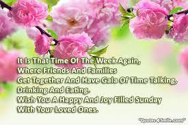 i wish you filled happy sunday happy sunday quotes
