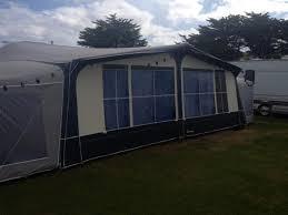 caravan awning ventura pacific 300 with 2 x tall annex balon
