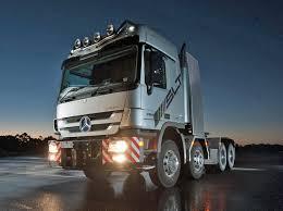 mercedes prime mover mcaleese orders mercedes heavy haulage trucks logistics