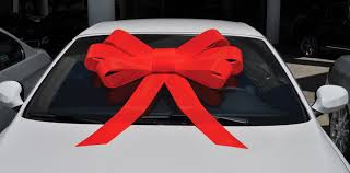 car bow ribbon e z lettering service car bows windshield bows car top