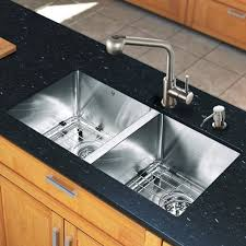 Vigo VG All In One  Undermount Stainless Steel Double Bowl - Kitchen sink and faucet sets