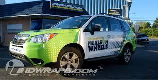 subaru wrapped vinyl vehicle graphics 3m mcs certified car wraps idwraps com