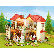 Sylvanian Families Garden 50 Off On Sylvanian Families Mks City House With Lights