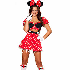 Halloween Costumes Girls Size 10 12 Aliexpress Buy Red Minnie Mouse Cosplay Costume Party