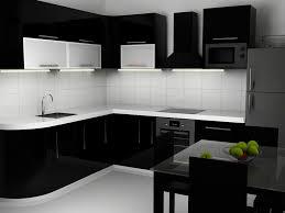 Black Gloss Kitchen Cabinets Black High Gloss Kitchen Cabinet On Aliexpress Alibaba